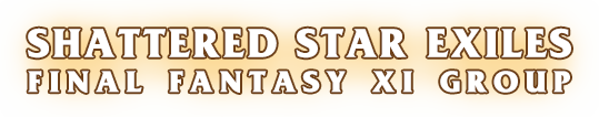 The Shattered Star Final Fantasy XI Group Website