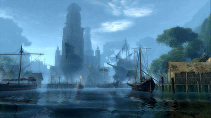 Age of Conan: A City Port
