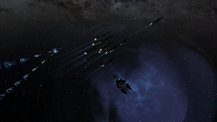 EvE Online: Patrol Around Gate in SMA Space