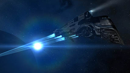EvE Online: Police Pursuit Comet
