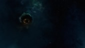 EvE Online: A wormhole leading to safety inside an eerie, quiet, and lifeless realm