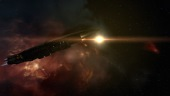 EvE Online: The Amarr Freighter: Providence, AKA Rebel Transport