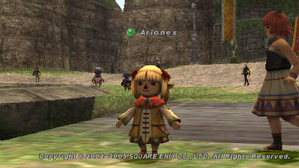 Final Fantasy XI: Want some candy little girl?