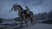Final Fantasy XIV: M.Steiner showing off his new PVP mount