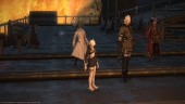 Final Fantasy XIV: Anubis, Isileth and M.Steiner gather with Alisaie ahead of Bahamut's Coils