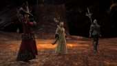 Final Fantasy XIV: Anubis, Isileth and M.Steiner celebrate our first kill of Twintania!