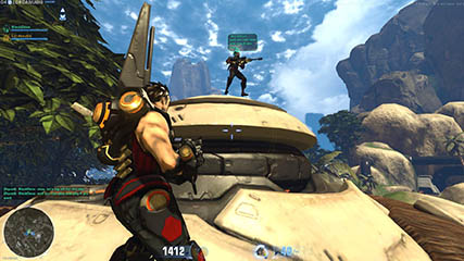Firefall: Finishing A PvE Session With BlackDove