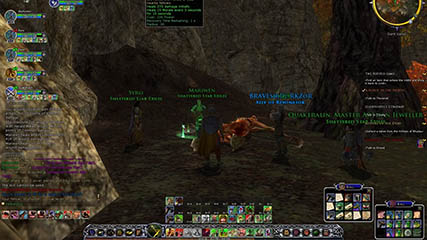 Lord of the Rings Online: An SSX Group At Work