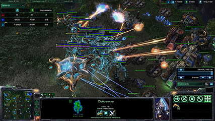 Other Games: Starcraft 2 - Anubis advances on MS' base with his Protoss death-ball