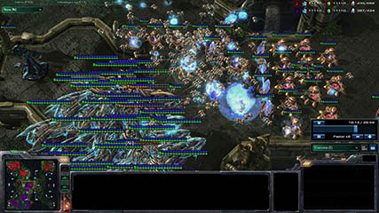 Other Games: Starcraft 2 - Ava demonstrates his mastery at Kulas Extreme