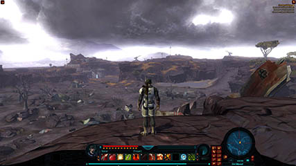 The Old Republic: MS Overlooking the battlefield [2010 Beta]