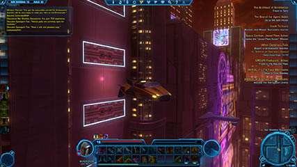The Old Republic: The Nar Shaddaa Shuttle Departing (Beta)