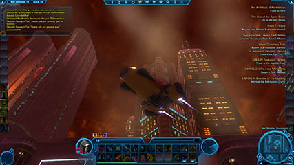 The Old Republic: The Nar Shaddaa Skyline (Beta)