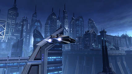 The Old Republic: Taxi in Dromund Kaas
