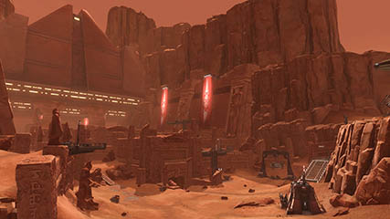 The Old Republic: Stopping by Korriban for a meeting with Darth Zhorrid