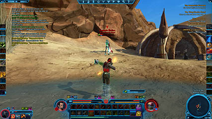 The Old Republic: PvP out in the Dune Sea, Tatooine