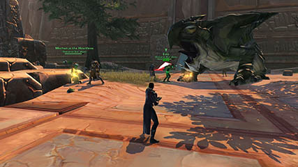 The Old Republic: Mech, Eeks & Rigby in the Athiss flashpoint