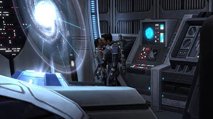 The Old Republic: Cipher Agent Rigby proposes to Ensign. Maxed affection