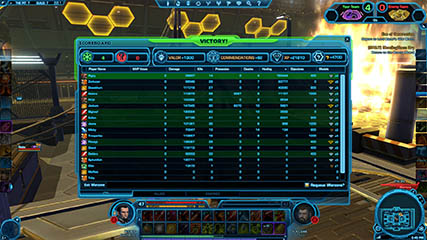 The Old Republic: Winning Hutball game