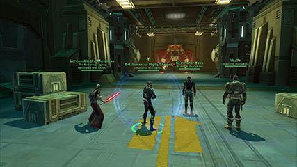The Old Republic: The SSX crew get ready to face Bulwark (D7 HM)