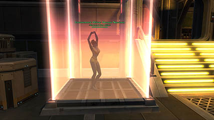 The Old Republic: Guild Tournament Event 19/05/12 - Syn'n ends the night with a little dance aboard Ash' starship