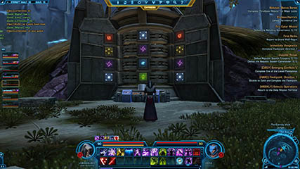 The Old Republic: One of the Puzzle Boards in the Eternity Vault
