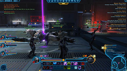The Old Republic: Celebrating Clearing the Lost Island Flashpoint