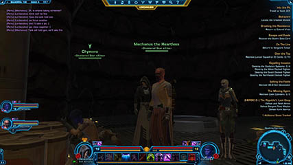 The Old Republic: Mechanus, Chymera and Lordanubis at work in a Heroic