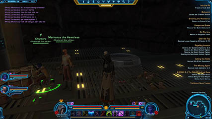 The Old Republic: Mechanus, Chymera and Lordanubis Preparing to Fight