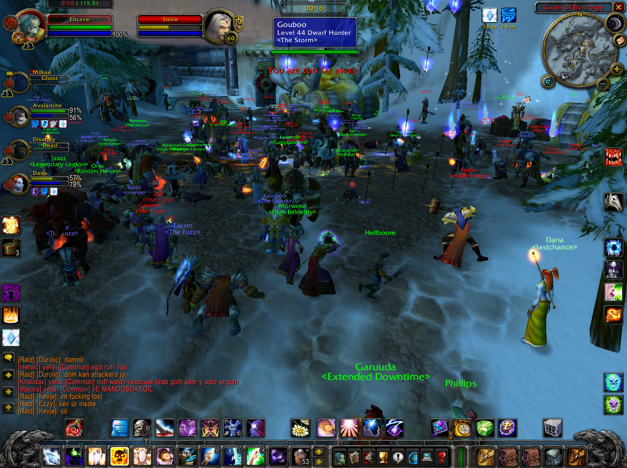 Group News | World of Warcraft =EU= | The Shattered Star