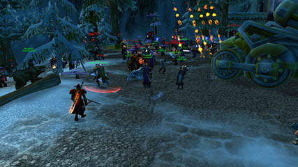 World of Warcraft EU: Ironforge raid on Bladefist