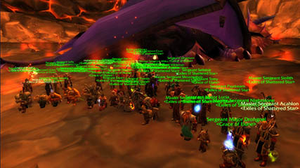 World of Warcraft EU: SSX & Grace of Elune Down Onyxia!