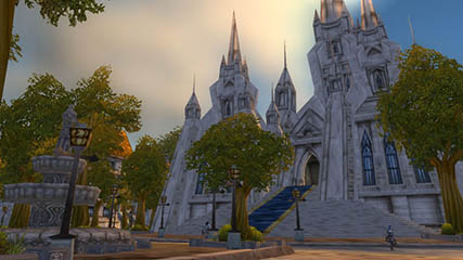 World of Warcraft EU: Stormwind Cathedral