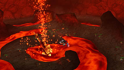 World of Warcraft EU: Ragnaros Air View