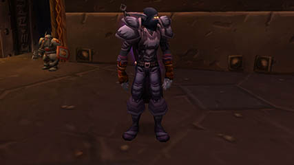 World of Warcraft EU: Hellmasker in his near complete Shadowcraft set