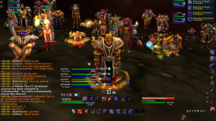 World of Warcraft EU: Acahlon's UI